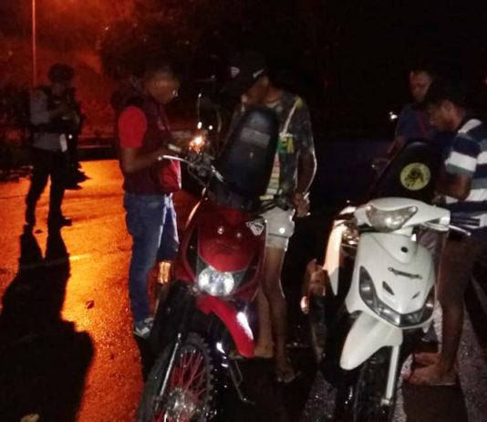 Patroli dan Razia TNI-Polri di Kota Jayapura, 1 Unit Motor Curian Diamankan