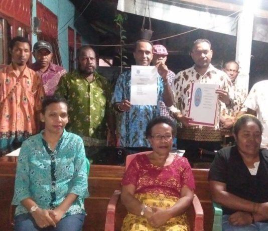 Partai Lokal Parapara Papua Barat Resmi Kantongi Akta Notaris