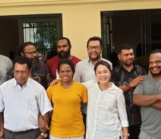 Forum Kerjasama DPR dan DPD RI Temui 6 Aktivis Papua di Tahanan Mako Brimob Kelapa Dua Depok