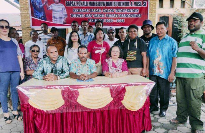 Romansa, Gabungan Aktivis dan Birokrat Siap Maju di Pilkada Manokwari 2020