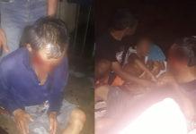 Kondisi para korban yang berlumuran darah setelah dibegal. Foto:IST