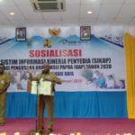 Gubernur Dominggus Ingatkan OAP Terkait Pengadaan Barang Jasa Secara Online